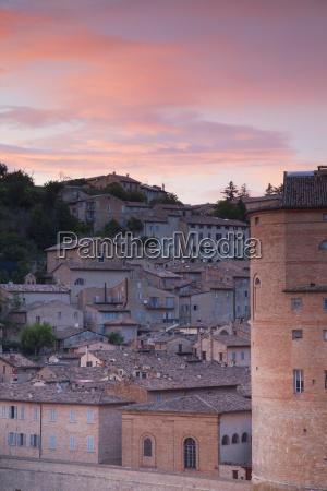 view of urbino unesco world heritage