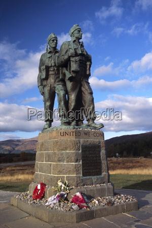 the commando memorial a world war