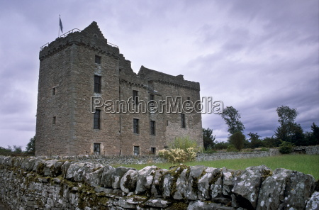 huntingtower castle dating from the 15th