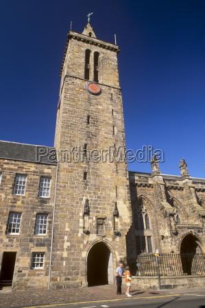 st salvators chapel and clock tower