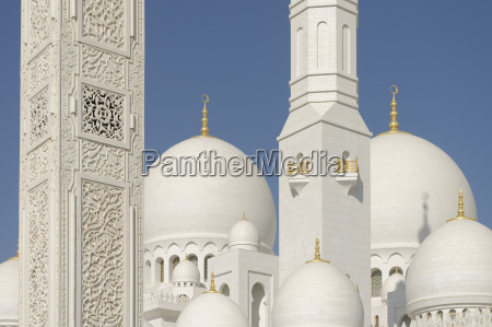 the sheikh zayed grand mosque abu