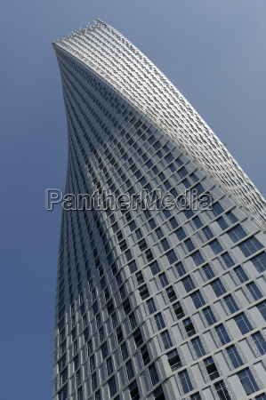 infinity tower features 495 apartments in