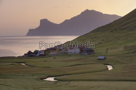 houses at elduvik at suise with
