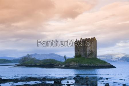 castle stalker near port appin argyll