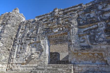 monster mouth doorway hormiguero mayan archaeological