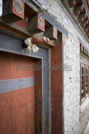 phallus above house door to ward