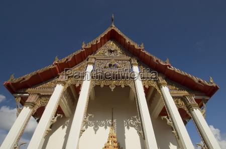 wat chalong temple phuket thailand southeast