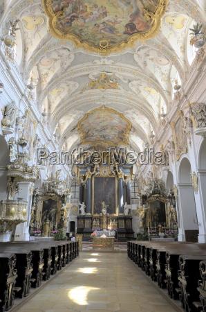 st emmerams church regensburg bavaria germany