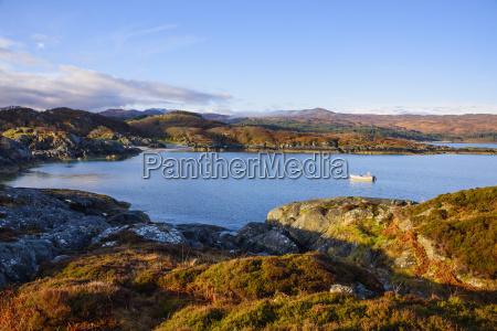 ardtoe bay ardnamurchan peninsula lochaber highlands