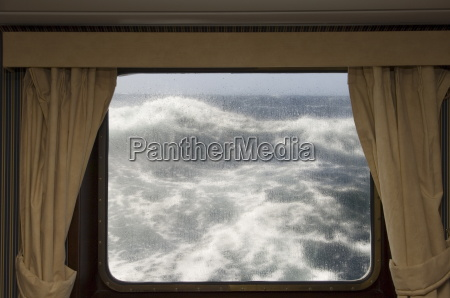 view from cabin on antarctic dream