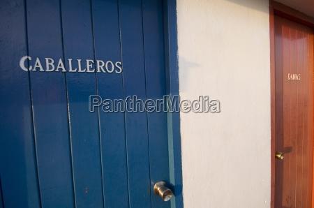 toilet doors havana cuba west indies
