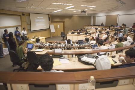 classroom indian school of business hi