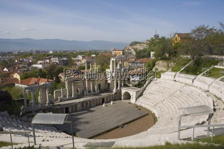 the roman theatre of ancient philippopolis