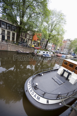 river boat amsterdam holland the netherlands