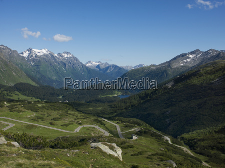 the road to splugen pass canton