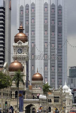 sultan abdul samad building merdeka square