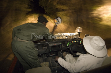 night game drive in south luangwa