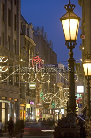 christmas in dam square and kalvestraat