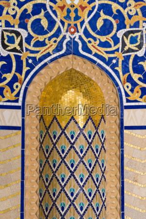 detail in al ghubrah or grand