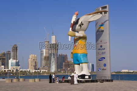 ory the oryx on the doha