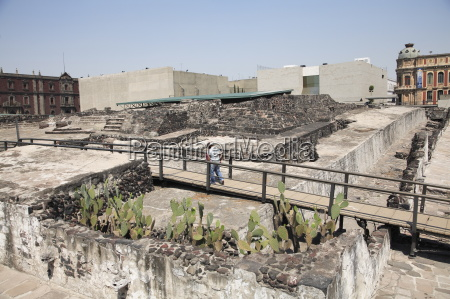 ruins templo mayor aztec temple unearthed