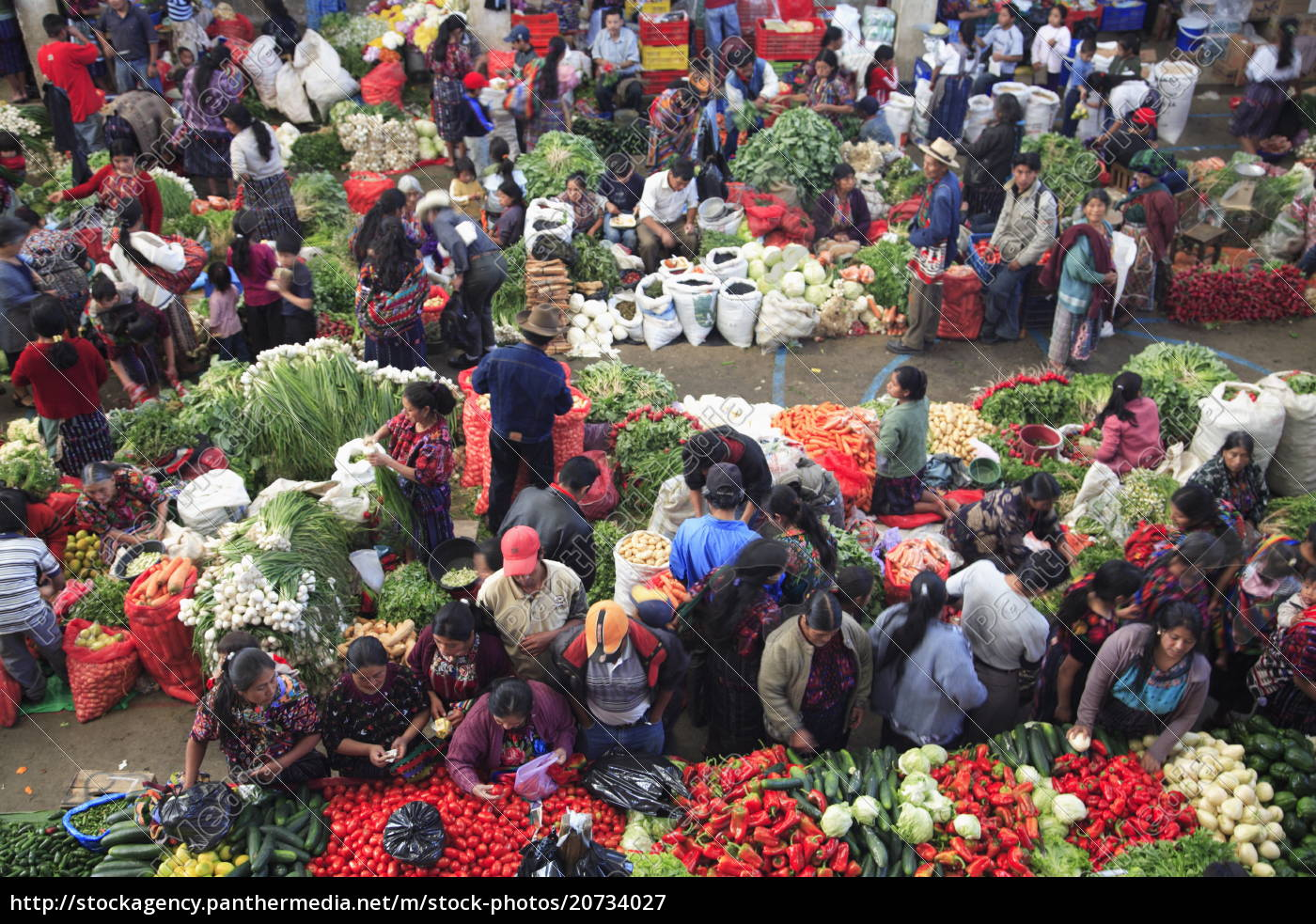 produce, market, , chichicastenango, , guatemala, , central, america - 20734027