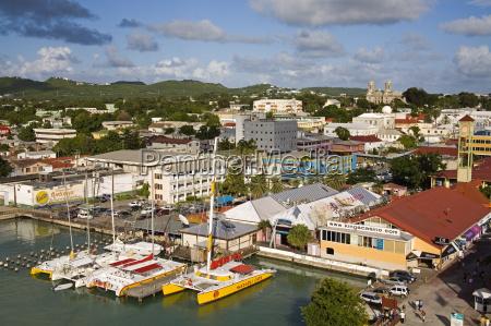 st johns waterfront antigua island antigua