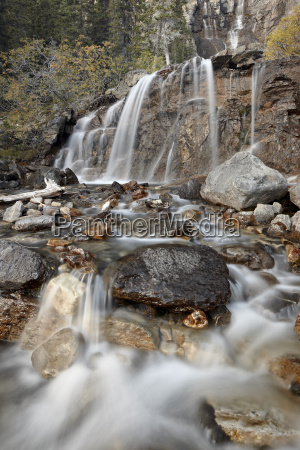 tangle falls jasper national park unesco