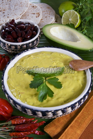 guacamole sauce mexican food mexico north