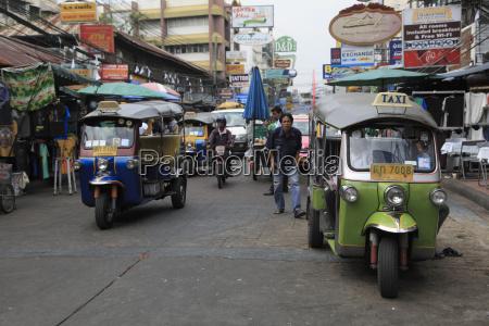 tuk tuks khao san road budget
