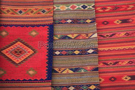 traditional hand woven rugs oaxaca city