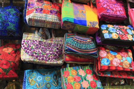 handmade bags handicraft market oaxaca city