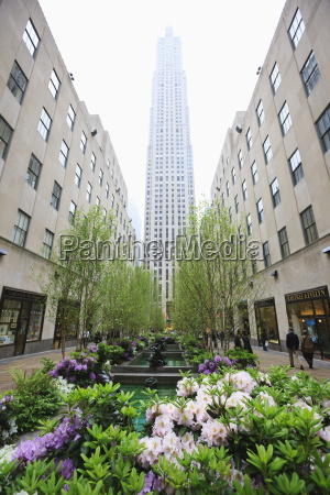 rockefeller center manhattan new york city