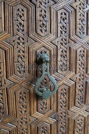 handle of the main door marrakech