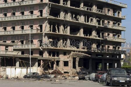 car bomb devastation beirut lebanon middle