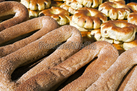 sesame round bread for sale in