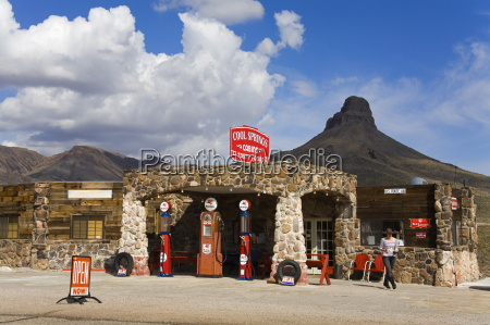 historic gas station route 66 cool