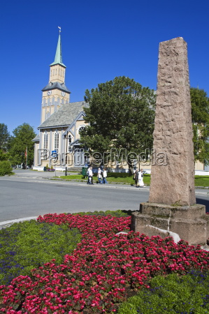 cathedral tromso city troms county norway