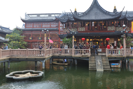hu xing ting teahouse and zigzag