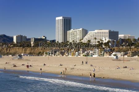 santa monica beach santa monica california