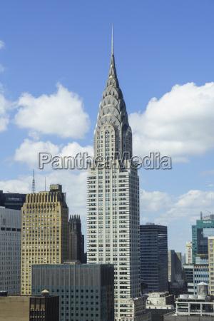 the chrysler building manhattan new york