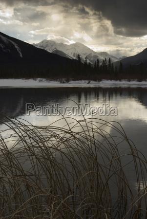 vermilion lakes banff national park unesco