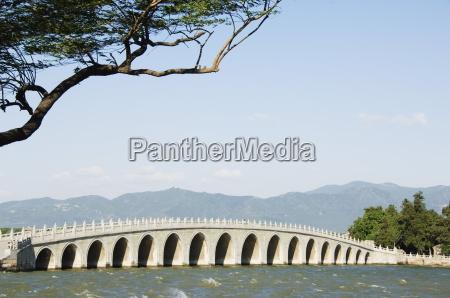 seventeen arch bridge on kunming lake