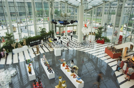 an art exhibition in tsinghua scientific