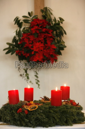 advent candles geneva switzerland europe