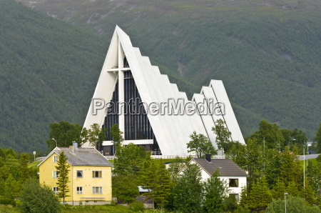 the arctic cathedral tromso norway scandinavia