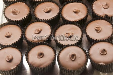 chocolates at the ganong chocolate factory