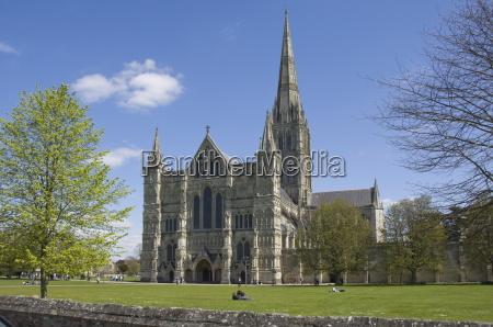 salisbury cathedral wiltshire england united kingdom