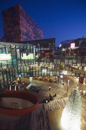 the village designer shopping complex at