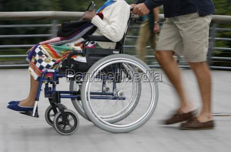 disabled in lourdes lourdes hautes pyrenees